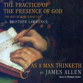 Practice of the Presence of God and As a Man Thinketh sample.