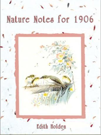 Nature Notes for 1906, Edith Holden