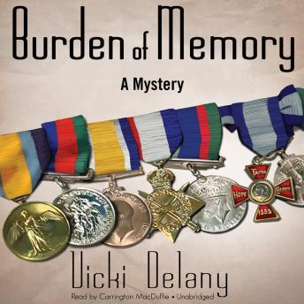 Burden of Memory: A Mystery, Vicki Delany