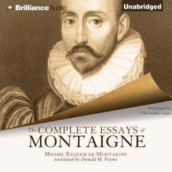 essays by michel de montaigne sparknotes