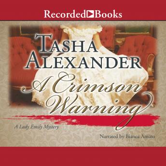 Crimson Warning, Tasha Alexander