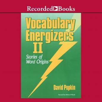 Vocabulary Energizers: Volume 1-Stories of Word Origins