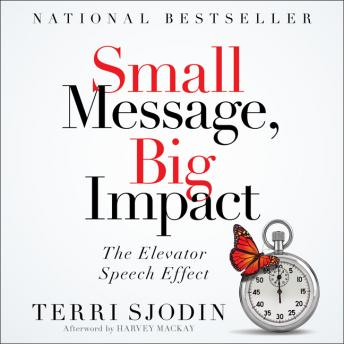 Small Message, Big Impact: The Elevator Speech Effect, Terri L. Sjodin