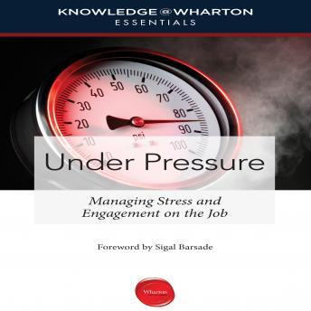 Under Pressure: Managing Stress and Engagement on the Job, Sigal Barsade