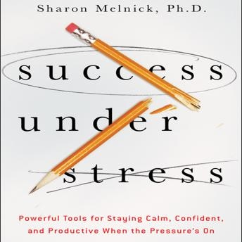 Success Under Stress: Powerful Tools for Staying Calm, Confident, and Productive When the Pressure's On, Sharon Melnick