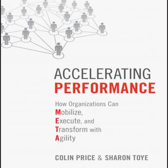 Accelerating Performance: How Organizations Can Mobilize, Execute, and Transform with Agility, Sharon Toye, Colin Price