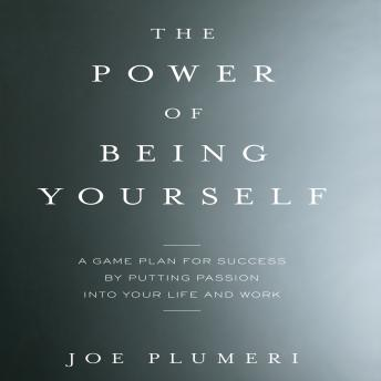 Power of Being Yourself: A Game Plan for Success--by Putting Passion into Your Life and Work, Joe Plumeri