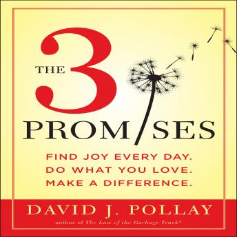 3 Promises: Find Joy Every Day. Do What You Love. Make A Difference., David J. Pollay
