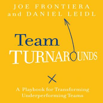 Team Turnarounds: A Playbook for Transforming Underperforming Teams, Daniel Leidl, Joe Frontiera