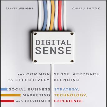 Digital Sense: The Common Sense Approach to Effectively Blending Social Business Strategy, Marketing Technology, and Customer Experience, Chris J. Snook, Travis Wright