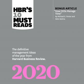 HBRs 10 Must Reads 2020
