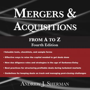 Mergers & Acquisitions from A to Z Fourth Edition