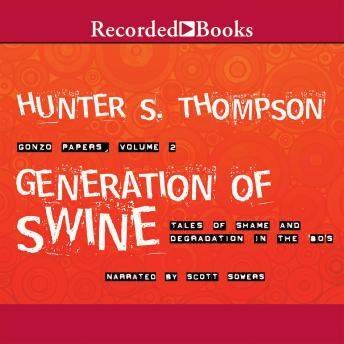 Download Generation of Swine by Hunter S. Thompson