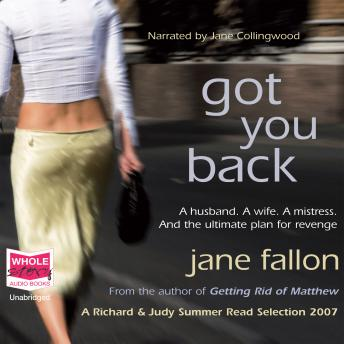 Got You Back, Jane Fallon