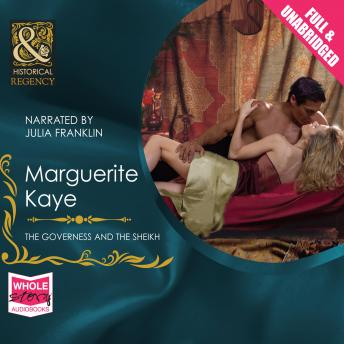 Governess and the Sheikh, Marguerite Kaye