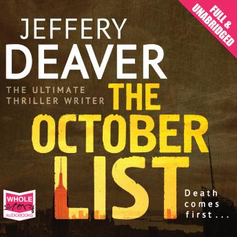 October List, Jeffery Deaver