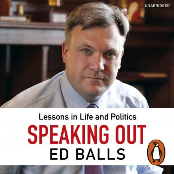 Speaking Out: Lessons in Life and Politics sample.