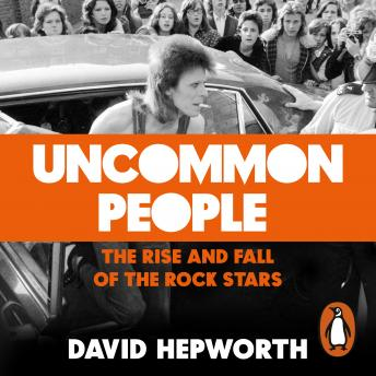 Uncommon People: The Rise and Fall of the Rock Stars 1955-1994, Audio book by David Hepworth