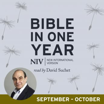 NIV Audio Bible in One Year (Sept-Oct), New International Version