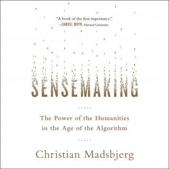 Sensemaking: The Power of the Humanities in the Age of the Algorithm, Christian Madsbjerg