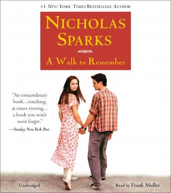 Walk to Remember, Nicholas Sparks