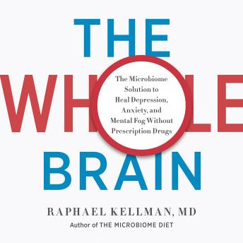 Download Whole Brain: The Microbiome Solution to Heal Depression, Anxiety, and Mental Fog without Prescription Drugs by Raphael Kellman, M.D.