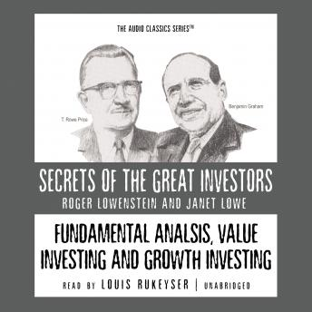 Fundamental Analysis, Value Investing and Growth Investing