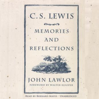 C.S. Lewis: Memories and Reflections sample.