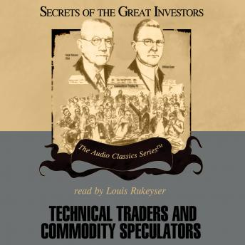 Technical Traders and Commodity Speculators, Bruce Babcock, Lyn M. Sennholz
