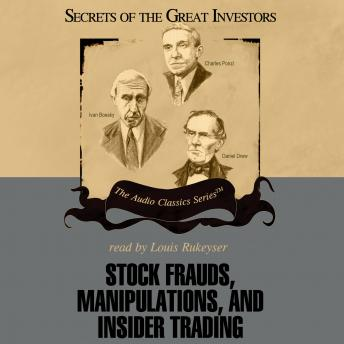 Stock Frauds, Manipulations, and Insider Trading, D. Christensen, M. Dykstra, T. D. Saler