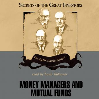 Money Managers and Mutual Funds, Donald J. Christensen