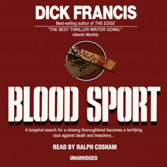 Blood Sport, Dick Francis