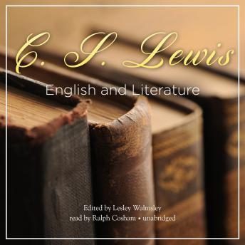 English and Literature, C.S. Lewis