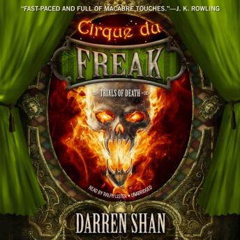 Trials of Death, Darren Shan