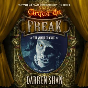 Download Vampire Prince by Darren Shan