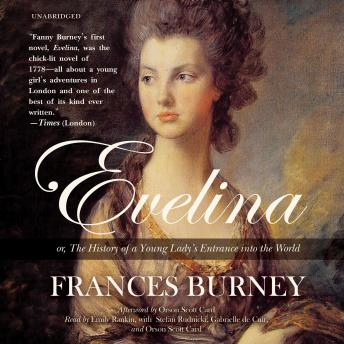 Evelina: or, The History of a Young Lady's Entrance into the World, Fanny Burney