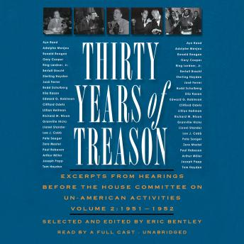 Thirty Years of Treason, Vol. 2: Excerpts from Hearings before the House Committee on Un-American Activities, 1938–1968