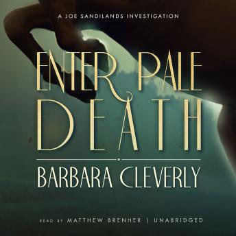 Enter Pale Death, Barbara Cleverly