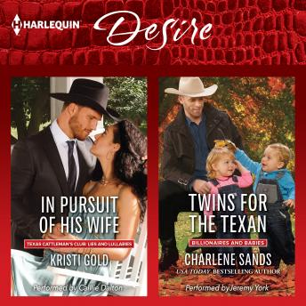 In Pursuit of His Wife & Twins for the Texan, Kristi Gold, Charlene Sands