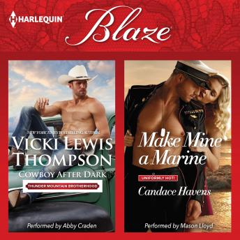Cowboy After Dark & Make Mine a Marine: Thunder Mountain Brotherhood, Vicki Lewis Thompson