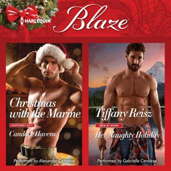 Download Christmas with the Marine & Her Naughty Holiday by Tiffany Reisz, Candace Havens
