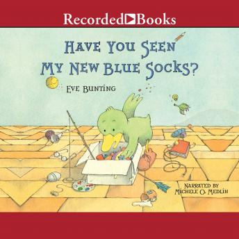 Have You Seen My New Blue Socks?, Eve Bunting