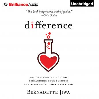 Difference, Bernadette Jiwa