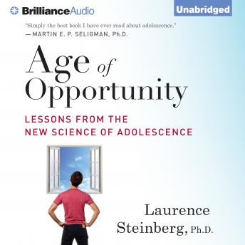 Age of Opportunity, Laurence Steinberg
