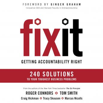 Fix It, Marcus Nicolls, Tracy Skousen, Craig Hickman, Tom Smith, Roger Connors
