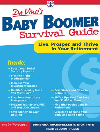 DaVinci's Baby Boomer Survival Guide: Live, Prosper, and Thrive in Your Retirement