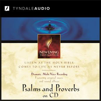 Psalms & Proverbs on CD NLT, Tyndale House Publishers