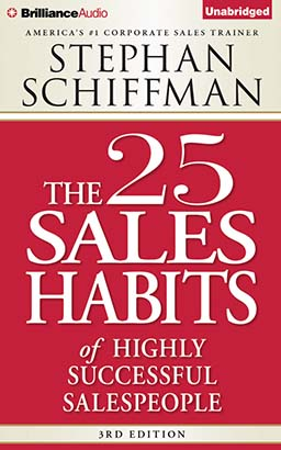Download 25 Sales Habits of Highly Successful Salespeople by Stephan Schiffman
