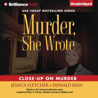 Murder, She Wrote: Close-Up on Murder, Donald Bain, Jessica Fletcher