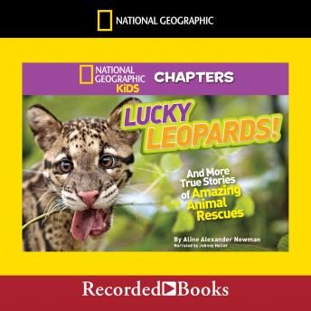 National Geographic Kids Chapters: Lucky Leopards: And More True Stories of Amazing Animal Rescues, Aline Alexander Newman